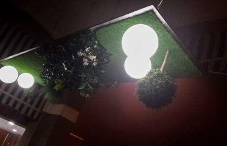 giardino sospeso locale sottosopra a vigone
