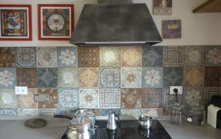 dettaglio nuova cucina e cementine