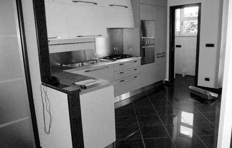 cucina su misura Giugiaro design