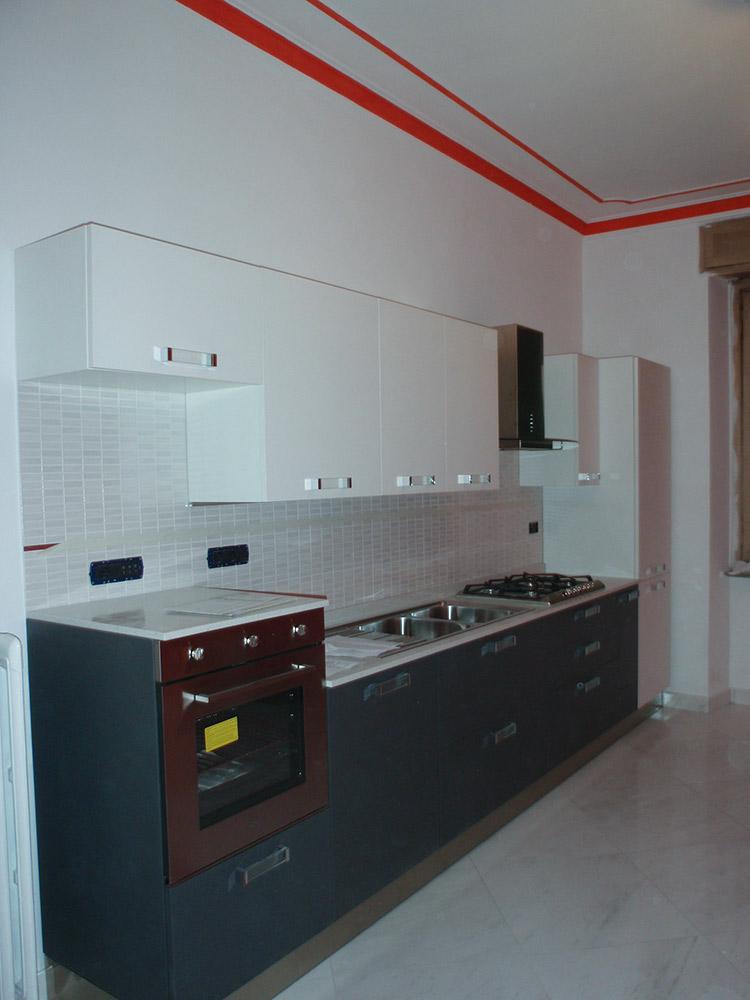 cucina moderna laccata su misura