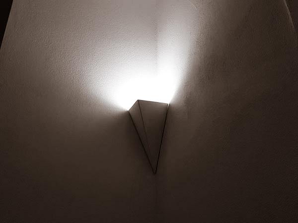 luce gesso volta illuminata