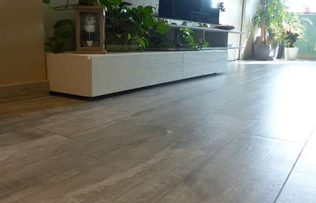 posa nuovo pavimento a listoni grès porcellanato