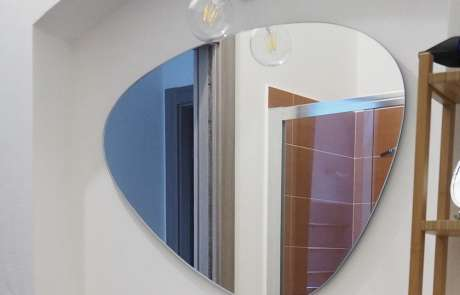 disegno-realizzazione-posa specchio realizzato su misura