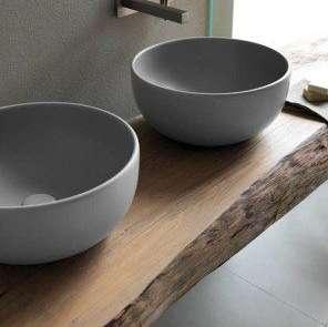 ipotesi di realizzazione lavabi e top in legno