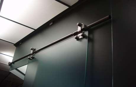 ufficio proposta sistema scorrevole vetro acciaio